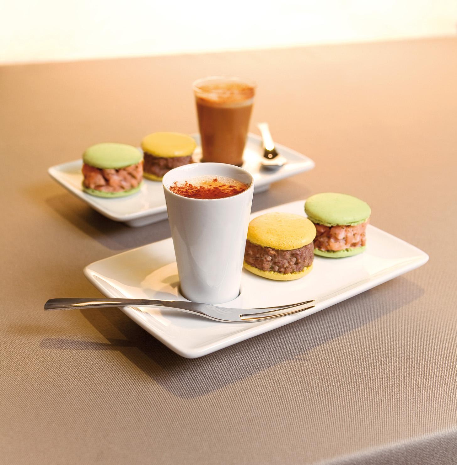 Une vocation du caf gourmand maitre d - Assiette rectangulaire pour cafe gourmand ...