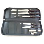 Une malette de couteaux Pro couteaux (vakeur 100 euros)